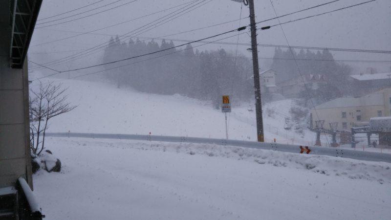 蔵王 積雪